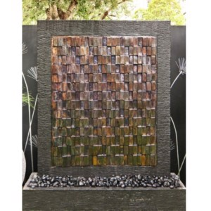 Water Wall – 3D Antique Squares
